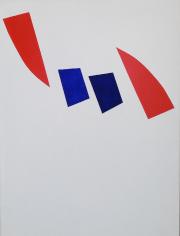 Brisant le moule, 1962, de Marcel Barbeau, acrylique... (Photo Daniel Roussel, fournie par la galerie Michel Guimont.) - image 1.1