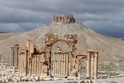 L'Arc de triomphe de Palmyre en mars 2014.... (ARCHIVES AFP) - image 2.0