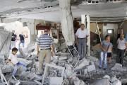 Israël a démoli mardi deux maisons de Palestiniens... (PHOTO MAHMOUD ILLEAN, AP) - image 1.0