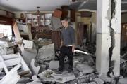 Israël a démoli mardi deux maisons de Palestiniens... (PHOTO MAHMOUD ILLEAN, AP) - image 3.0
