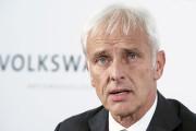 Le nouveau patron de Volkswagen, Matthias Müller... (AFP, JOHN MACDOUGALL) - image 1.0