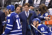 Le nouvel entraîneur-chef des Maple Leafs, Mike Babcock. ... (PHOTO PC) - image 2.0