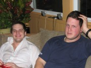 Les fils de Ian Davidson, Christian et Simon,... (PHOTO LA PRESSE) - image 1.0