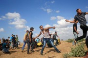 Les violences se sont étendues vendredi pour la... (PHOTO MOHAMMED ABED, AFP) - image 2.0