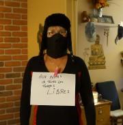 C'est en portant son niqab que Zunera Ishaq, dont... (Photo tirée de Facebook) - image 2.0