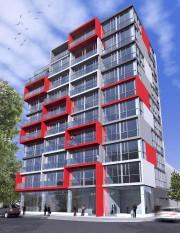 La construction d'un immeuble de 10 étages attire... (Illustration fournie par Rayside|Labossière) - image 1.0