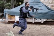 Un membre des forces de sécurité israéliennes, à... (PHOTO AHMAD GHARABLI, AFP) - image 1.1