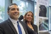 Récemment libéré, le journaliste Mohamed Fahmy a tenu... (Frank Gunn, La Presse Canadienne) - image 3.0