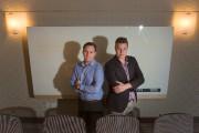 Guillaume Fortin (à gauche), président de Neurométric, dessert... (PHOTOIVANOH DEMERS, LA PRESSE) - image 2.0