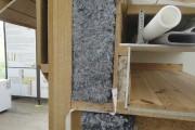 Isolant en fibres textiles.... (Photo fournie par Bourassa Maillé Architectes) - image 3.1