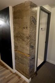 Un ancien mur extérieur en béton, qui traverse... (Le Soleil, Erick Labbé) - image 3.1