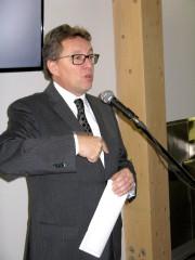 Le ministre Jean D'Amour était de passage à... (Photo collaboration spéciale Geneviève Gélinas) - image 3.0