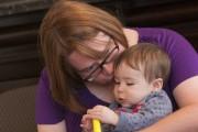 Élisabeth, le bébé espoir de Julie Turcotte et... (Photo Le Progrès-Dimanche, Michel Tremblay) - image 2.0