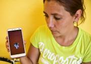 Marta Marbella, qui habite dans le village d'El... (PHOTO RONALDO SCHEMIDT, AFP) - image 2.0