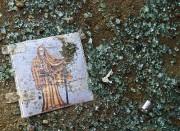 Une image religieuse à l'effigie de la Santa... (PHOTO RONALDO SCHEMIDT, AFP) - image 1.1