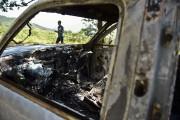 Plusieurs voitures calcinées ont été retrouvées dans la... - image 3.1