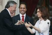 Le 10 décembre 2007, Cristina Kirchner reçoit le... (PHOTO JORGE SAENZ, ARCHIVES AP) - image 1.0