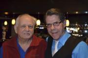 Sabin Gaudreault était en compagnie de l'ex-candidat Claude... (Photo Le Quotidien, Louis Potvin) - image 2.0