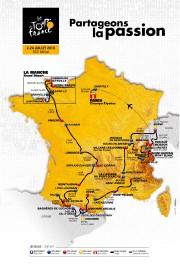 Le parcours 2016 du Tour de France... (AP) - image 2.0