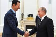 Les présidents Assad (à gauche) et Poutine.... (PHOTO ALEXEY DRUZHININ, RIA NOVOSTI/KREMLIN/AFP) - image 1.0