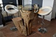 Cette table en érable a été baptisée Enjoy.... (Le Soleil, Patrice Laroche) - image 2.0
