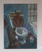 Cette toile qui a pour titre Le trône... (Photo Le Progrès-Dimanche, Michel Tremblay) - image 3.0