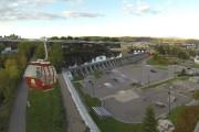 Un téléphérique pourrait relier la Pulperie de Chicoutimi... (Photo courtoisie) - image 3.0