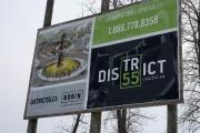 Le District 55 près du pont Laviolette.... (Stéphane Lessard) - image 2.0