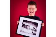 Jayden Gosselin est né à 28 semaines. Il... (François Caro photos) - image 1.0
