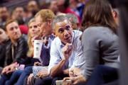 Le président américain Barack Obama a assisté mardi... (AP, Jeff Haynes) - image 2.0