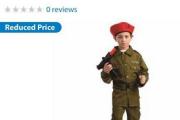 La «panoplie de militaire israélien pour enfant» est... (Tirée du site Web de Wal-Mart) - image 1.0