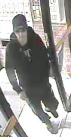 Le suspect recherché... (Photo fournie par le SPS) - image 1.0