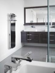 L'Impresario 1200 en miroir avec support à serviettes... (Fournie par Convectair) - image 4.0