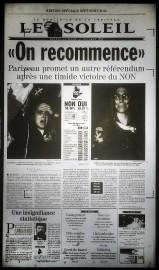 Il y a 20 ans, au lendemain du référendum du 30octobre 1995,... (Le Soleil) - image 2.0