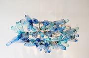 Évaporation, 2015, d'Annie Cantin, verre soufflé et acier... (Photo fournie par la galerie Elena Lee) - image 1.0