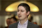 Le gestionnaire des politiques publiques d'Uber, Chris Schafer... (Patrick Woodbury, LeDroit) - image 2.0