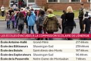Comme plusieurs autres régions du Québec, des écoles de la Mauricie ont été... - image 2.0