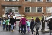 Des élèves de nombreuses écoles du Québec ont... (Francois Gervais, Le Nouvelliste) - image 2.0