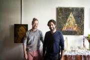 Jason Morris et Kabir Kapoor se sont rencontrés... (PHOTO MARCO CAMPANOZZI, LA PRESSE) - image 1.0
