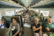 Le deuxième et dernier wagon du train est... (Photo Catherine Lefebvre, collaboration spéciale) - image 1.1
