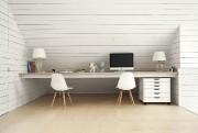 La table de travail de la mezzanine.... (PHOTO MAXIME BROUILLET, FOURNIE PAR LA SHED ARCHITECTURE) - image 5.0