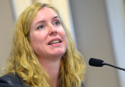 Julie Lemieux, vice-présidente du comité exécutif de la... (Photothèque Le Soleil, Jean-Marie Villeneuve) - image 1.0