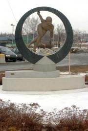 La statue a été installée en 2006.... (Archives La Tribune) - image 2.0