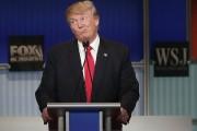 Donald Trump lors du débat télévisé à Milwaukee,... (PHOTO JOSHUA LOTT, AFP) - image 1.0