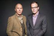 L'acteurMichael Keaton et le réalisateur Tom McCarthy... (AP, Casey Curry) - image 1.0