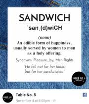 Des plats portant le nom de violeurs, et des... (IMAGE TIRÉE DE FACEBOOK) - image 5.0