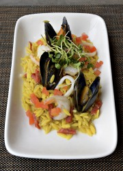 La relecture hispano-italienne de la paella est très... (Le Soleil, Patrice Laroche) - image 2.0