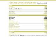La Corporation des Fleurons du Québec dévoilait jeudi... (Infographie Le Soleil) - image 2.0