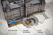 Image conceptuelle où l'on voit la zone sécurisée... (Fournie par l'Assemblée nationale) - image 1.0
