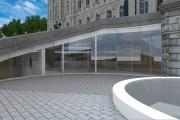 Vue de l'entrée, à l'intérieur des escaliers centraux,... (Fournie par l'Assemblée nationale) - image 2.1